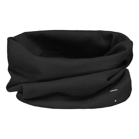 from gray label endless scarf nearly black