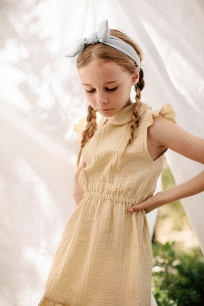dress penelope liilu organic yellow amarillo gelb vestido