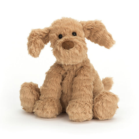 Jellycat Fuddlewuddle Puppy Baby in beige