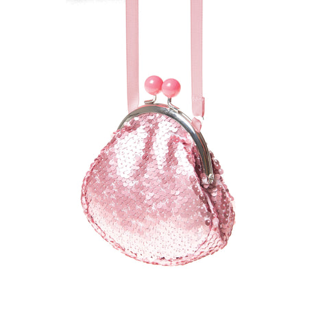 retro pink sequin bag from Rockahula
