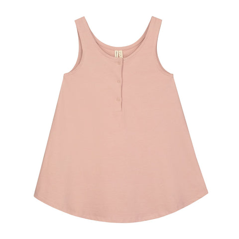 tank dress, gray label, konfetti kids, barcelona, pink, algodon organico