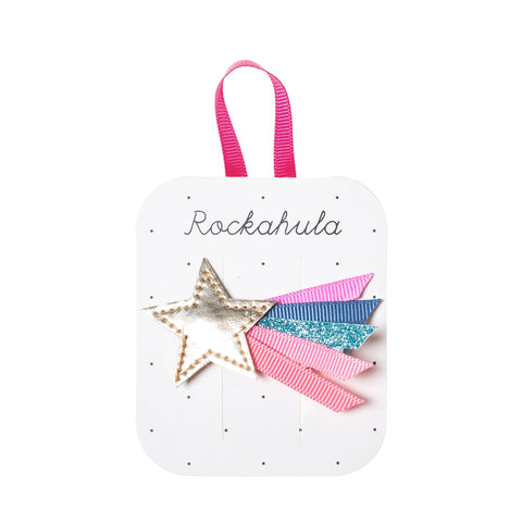 wish upon a star clip from rockahula golden star with rainbow tail