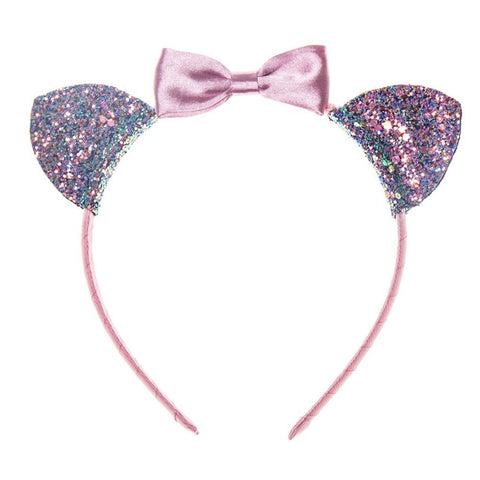 cat ears alice headband from Rockahula pink ribbon