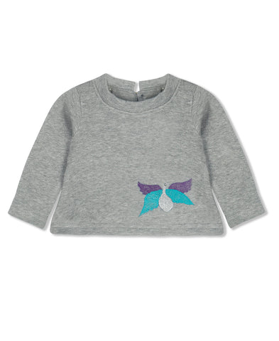 Sweatshirt, Chandamama, Grey