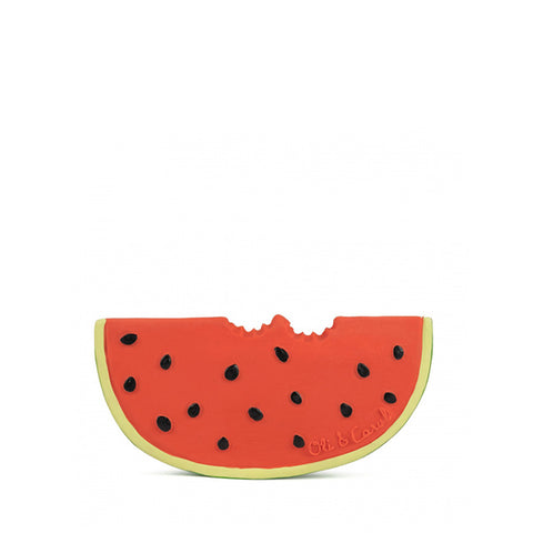 oli&carol teether wally the watermelon mordedor 100% natural