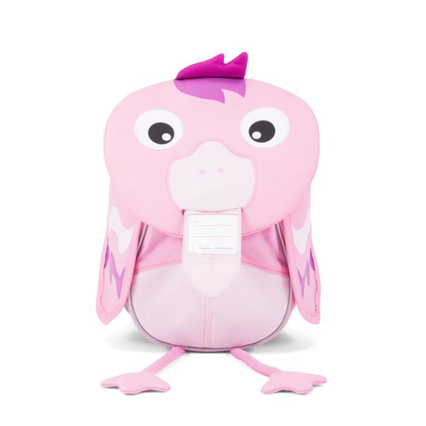 affenzahn animal backpack mochila pink flamingo