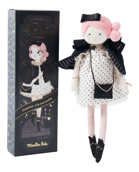 madame constance limited edition moulin roty pink hair