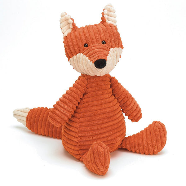 cordy fox from Jellycat in orange and white 38cm
