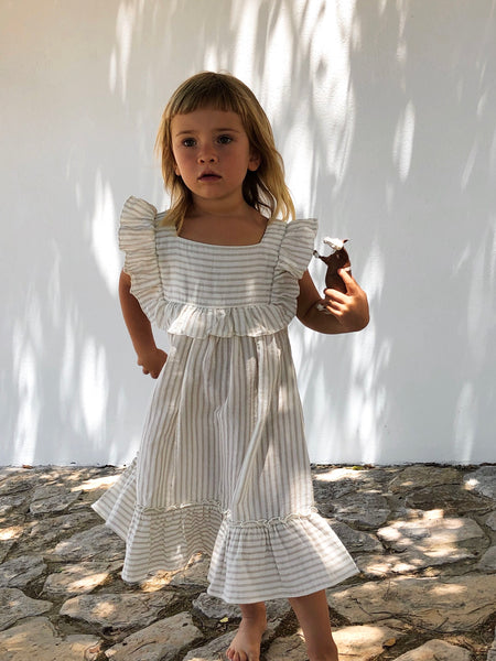 Liilu - Lina Dress - Stripes