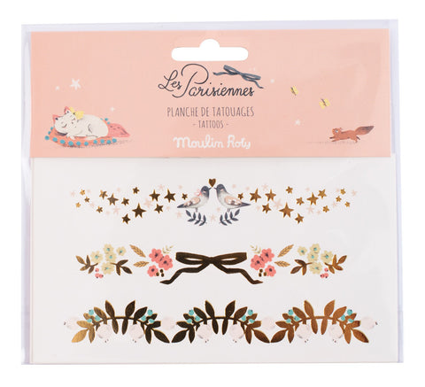 tattoo parisienne moulin roty pulsera