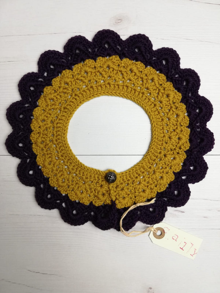 crochet collar handmade in barcelona