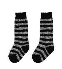 Striped  socks. Made in France 100% Combed Cotton Buho