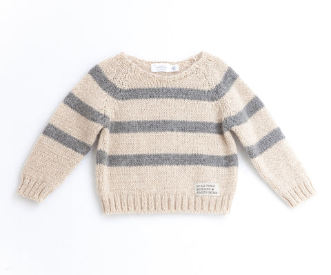 tocoto vintage stripes pullover wool