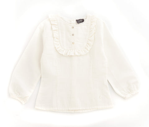 tocoto blouse white kid lace blouse