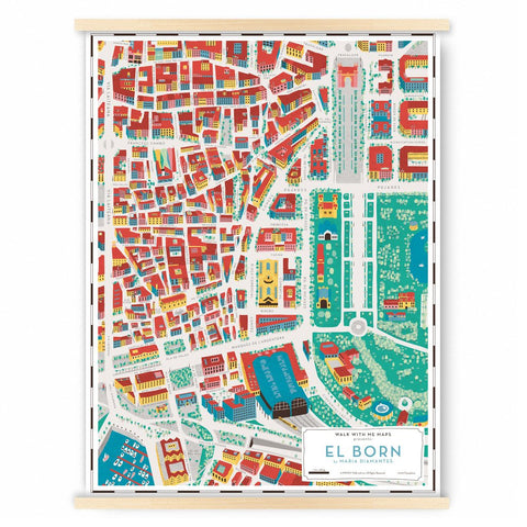 Borne, Barcelona, Map, Walk with me