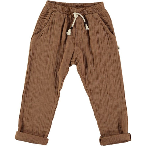 my little cozmo pants sabana brown color