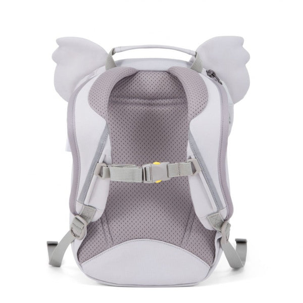 Affenzahn Karla Koala backpack in grey and pink