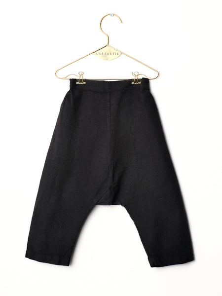 wolf and rita, alvaro trousers, black, konfetti kids, barcelona, kids, tienda niños