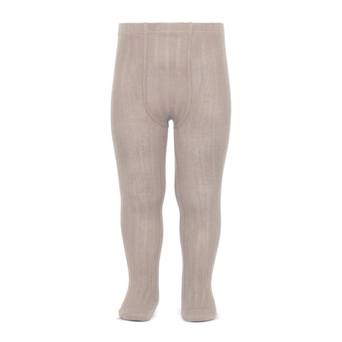 condor rib tights canale leotardos color piedra