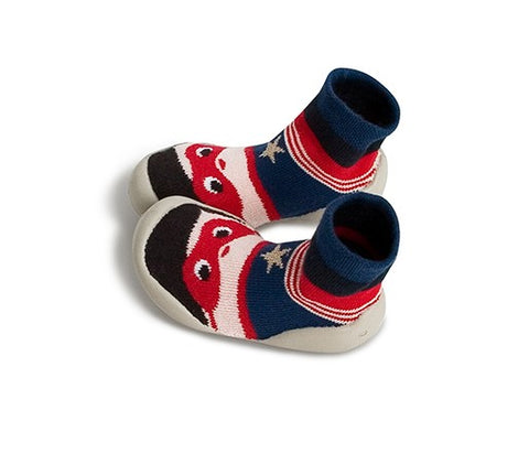 Collégien ~ Slippers - Superman