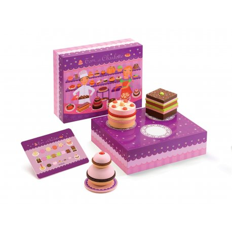 from Djeco Tom & Charlotte patisserie set imitation play cake