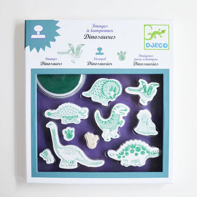 djeco dinosaurs stamps at konfetti kids