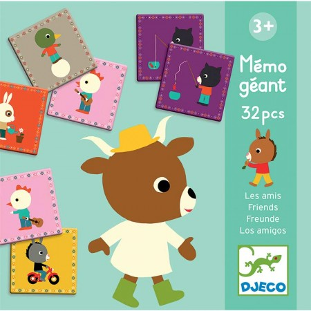 Djeco ~ Memo Friends Matching and Memory Game