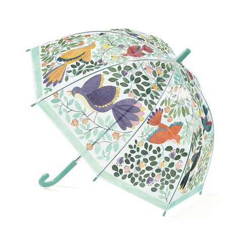 umbrella djeco, birds and flowers, djeco konfetti kids barcelona