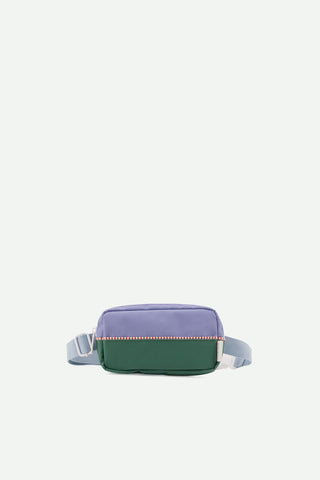 sticky lemon purple and green fanny pack riñonera