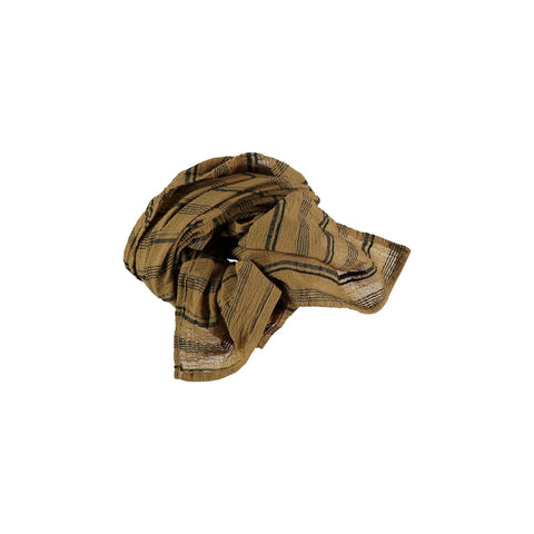 stripes foulard from buho in mustard