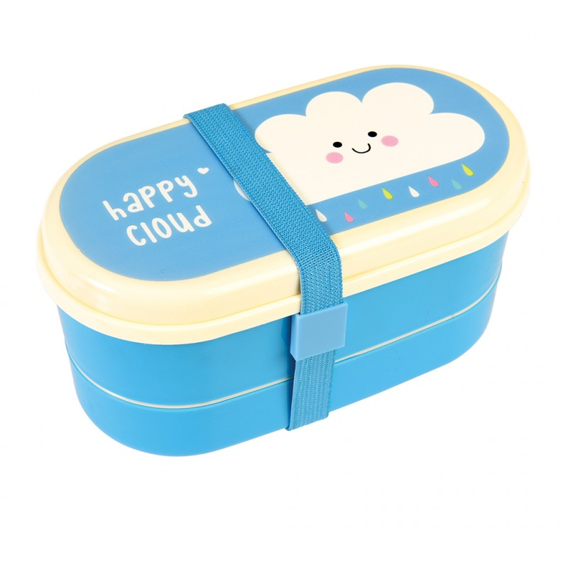 cloud bento box from Rex London blue and white
