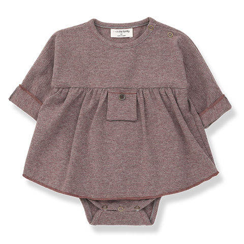 +1 in the Family el vestido con body Iria en konfetti kids