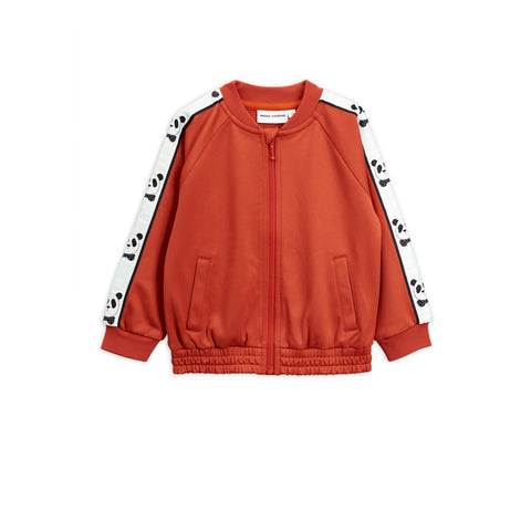 red sport jacket mini rodini with panda