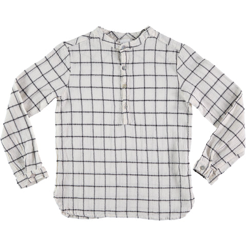 paul check shirt from buho barcelona available at konfetti kids the shop for kids in barcelona, tienda para niños en barcelona konfetti kids