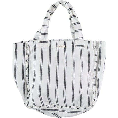 striped bag Buho Barcelona, made in spain, konfetti kids barcelona