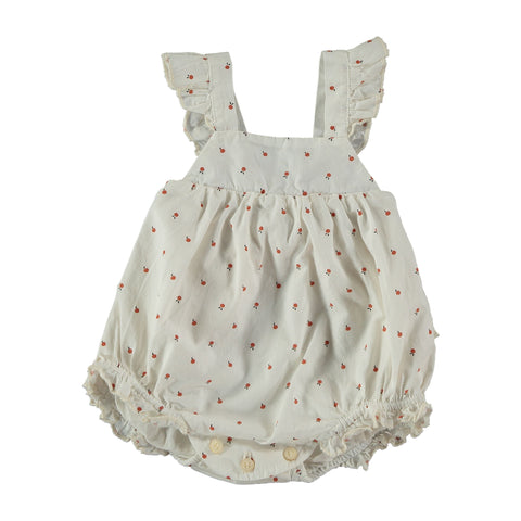 fruits romper ivory my little cosmos with fruits carol romper