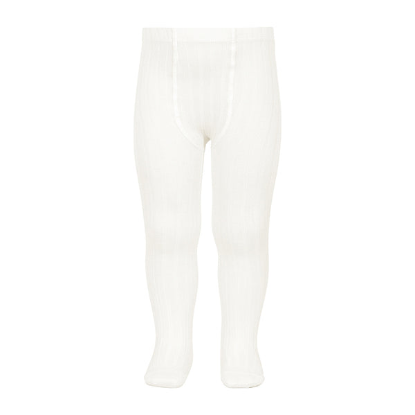 Cóndor - Rib Tights - Cream White