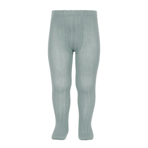 condor-dry green verde seco canale leotardos rib tights