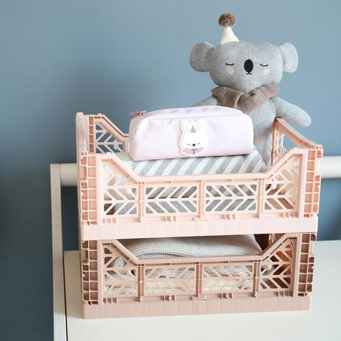 folding crate in cream color from Eef Lillemor  Midi
