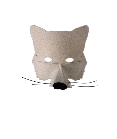 Frida's Tierchen ~ Wolf Mask - White