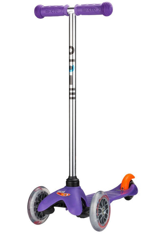 scooter lila micro patinete purple led mini micro 2 5 años