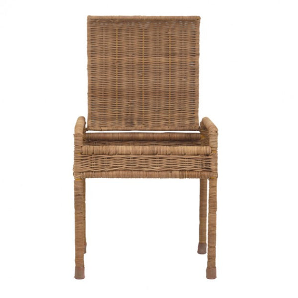 from the fair-trade brand Olli Ella the storie Stool in natural rattan