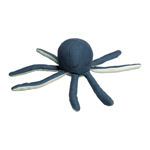 pulpo rattle blue fabelab octopus