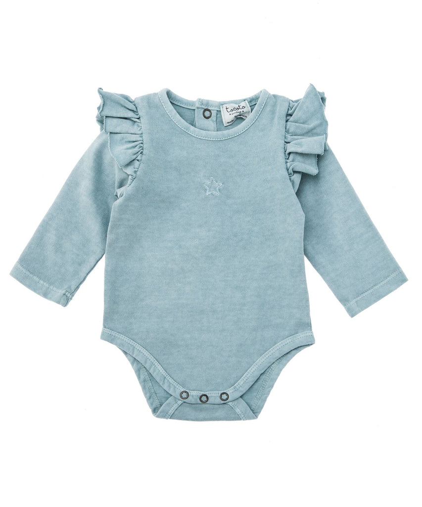 body light blue rocoto vintage