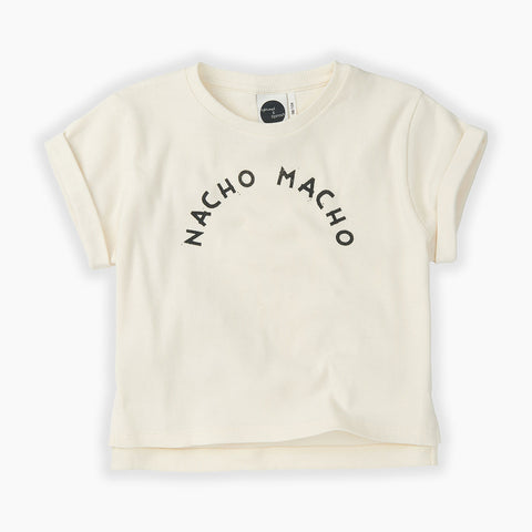 Sproet & Sprout  white Nacho Macho T-Shirt