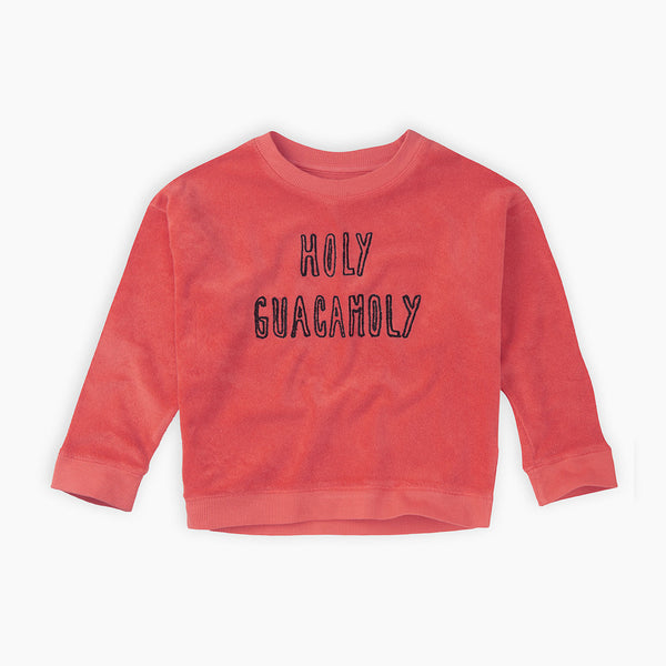 holy guacamoly red sweatshirt from Sproet & Sprout