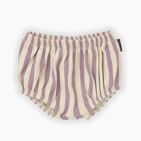 striped bloomers lila and white from Sproet Sprout