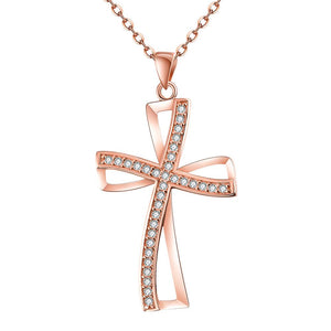 Rose Gold Necklace LSN024