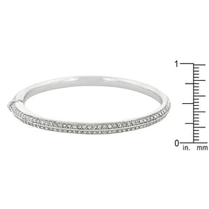 Crystal Embellished Bangle Bracelet - BC00052R-C02