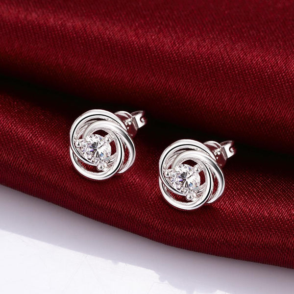 Silver Earrings LSE010